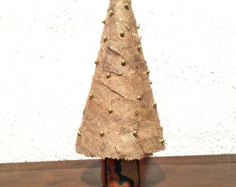Decorative Christmas posts in different styles