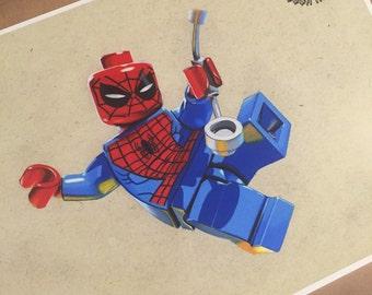 Lego Spidey PRINT.