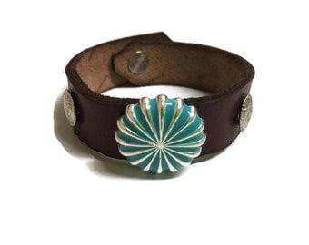 Leather Latigo Handmade Bracelet