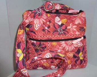 Pink Crossbody Handbag