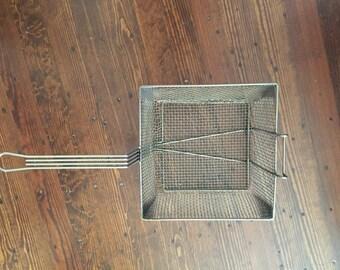 Industrial style Fry Basket