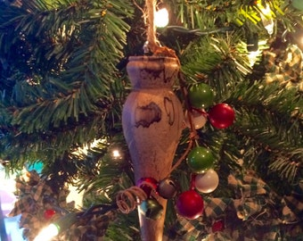 Traditional Wooden Christmas Ornament