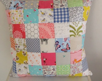 Modern Patchwork Pillow Cover