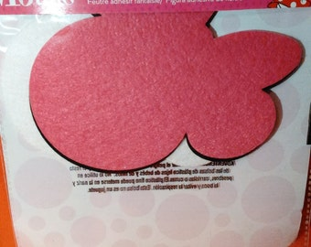 Minnie Mouse adhesive felt shapes new