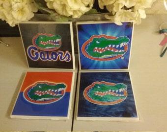 Florida Gators coaster set