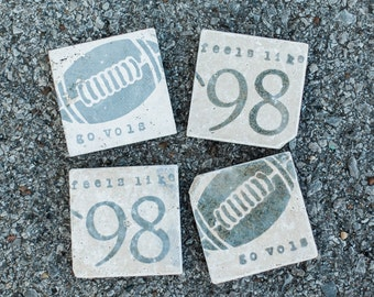 University of Tennessee Volunteers Coasters