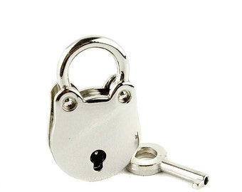 Light Golden Plated Padlock, Purse Lock, Lock Pendant, Hardware Lock, Twist Lock, Handbag Hardware Lock, Suitcase Lock, Whole Sale, DIY