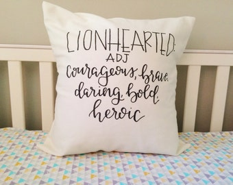 Lionhearted Pillow