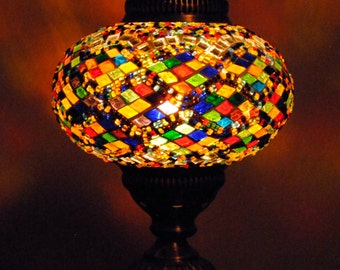 Pixie Dust - Handmade Turkish Lantern Table Lamp