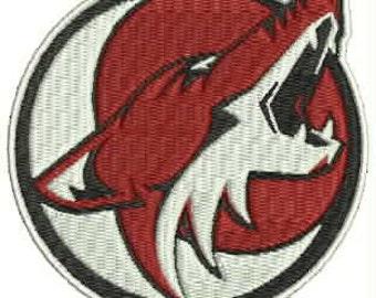 Phoenix Coyotes Embroidery Design