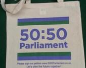 50:50 Parliament Tote Bag...