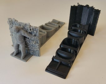 Hodor Hold The Door Stop - 3D Printed Game of Thrones Doorstop Door Stopper