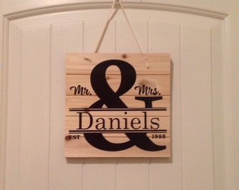 Customized Hanging Sign