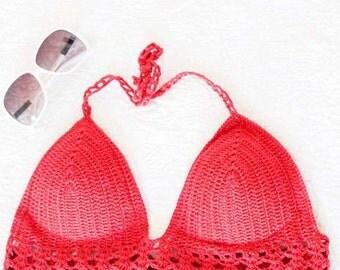 Violet Crochet Top