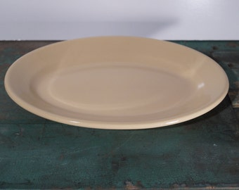 Buffalo China Tan Ironstone Serving Dish
