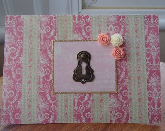 Pretty Parisian style card