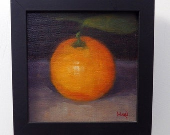 Orange, Oil on Canvas Panel, 2014