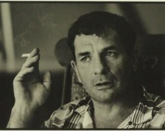 Jack Kerouac photograph by Stanley Twardowicz 1967 Lowell, Massachusetts