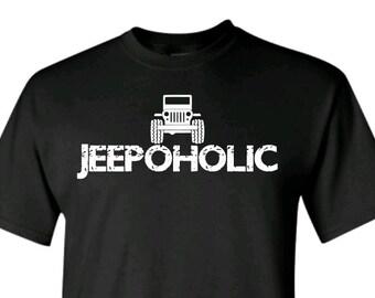 Jeepoholic Shirt Round Headlights