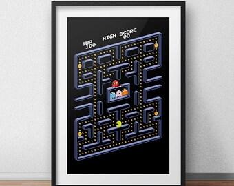 Pac-Man Classic Home screen