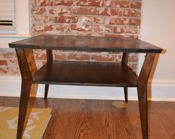 Vintage Mid Century Modern Coffee Table End Table Mersman 8175