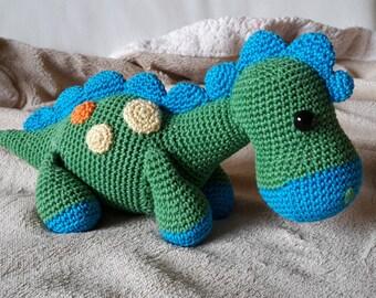 DINO the dinosaur crochet - Amigurumi
