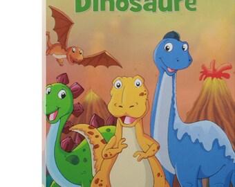 "personalized book ""Dinosaur Dinosaur"" - Children's Book - History fantastic child - Kdo custom - Name - History Heroes"