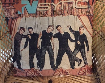 Nsync pillow