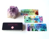 Mantra Cards, Inspiration Cards, Oracle Cards, Oracle Deck, Meditation Tools, Spiritual Tools, Self Help Tools, Personal Development