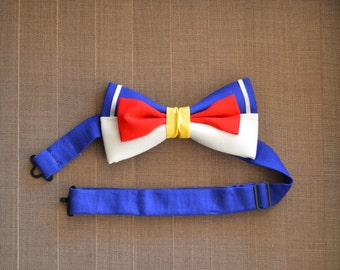 Disney Inspired Donald Duck Adjustable Bow Tie