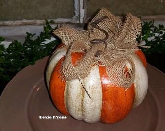 Pumpkin & Burlap