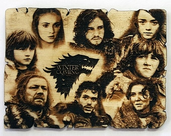 Game of thrones: fridge magnet