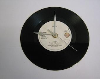 "ZZ Top - ""Legs"" Record Wall Clock"