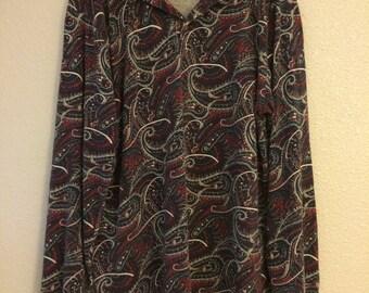Vintage 90's Print Long sleeve