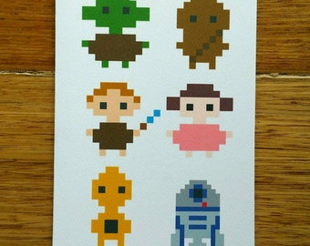 May The Pixel Be With You Card