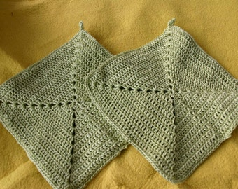 Double Oven mitts, pot holders, double oven mitts