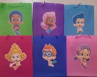 Bubble Guppies Favor Bags