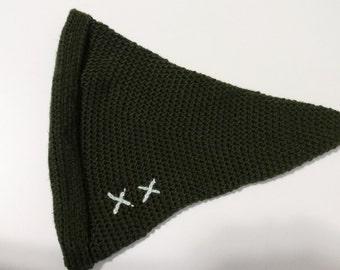 Crochet Pixie/Elf Hat