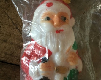 Santa Claus - Father christmas - Hong Kong santa - tree decoration - santa decoration - christmas decoration - 1960s christmas