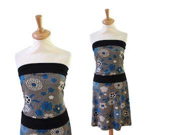 Bandeaukleid 38 Jersey dress flowers GOWN time - simple dress, Womens dresses, Jersey dress, minimalist