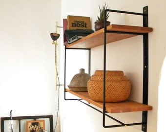 Etagere murale etsy for Equerres pour etageres murales