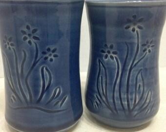 Handmade Ceramic Mugs, Cute Ceramic Mugs with Frog in the Bottom