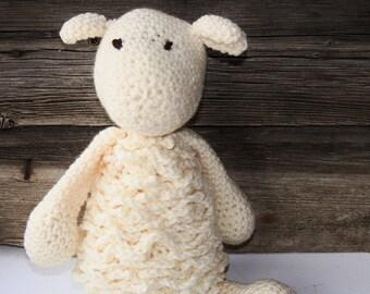 stuffed animal-lamb