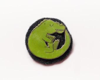 Reptiles brooch