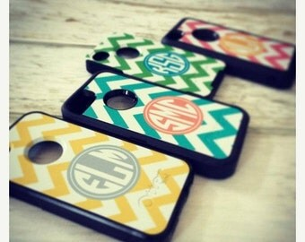 SALE Defender or Commuter Otterbox® Personalized Phone Cases - iPhone 5, iPhone 6 Plus, Galaxy - Custom Monogram Cell Phone Device Case
