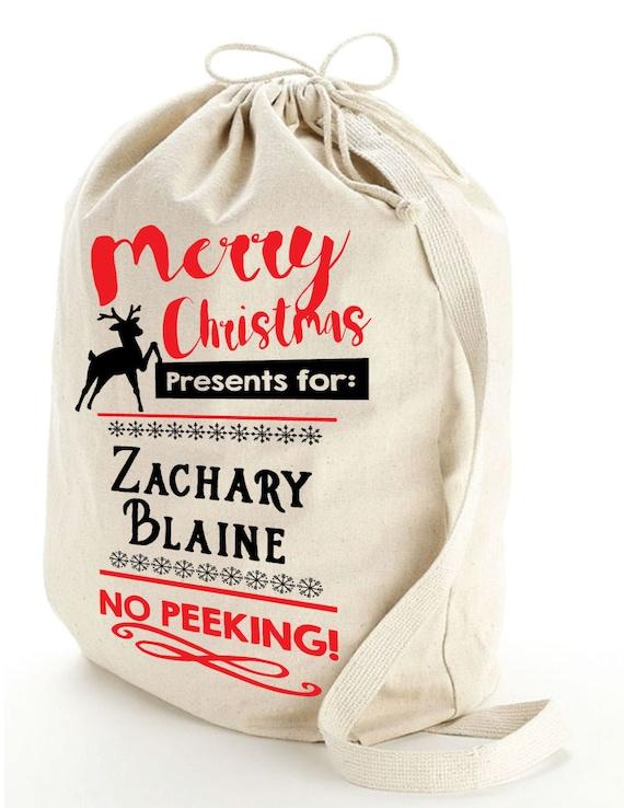 Sack Of Toys For Christmas : Santa sack large bag for presents christmas toy by
