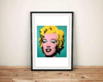 Marilyn pixels