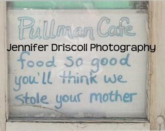Notecard - Pullman Cafe
