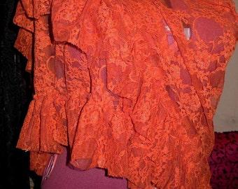 shawl wrap poncho mango lace
