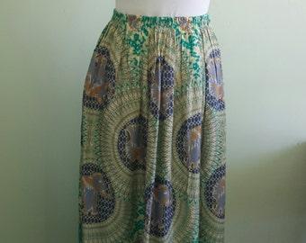 thai batik skirt